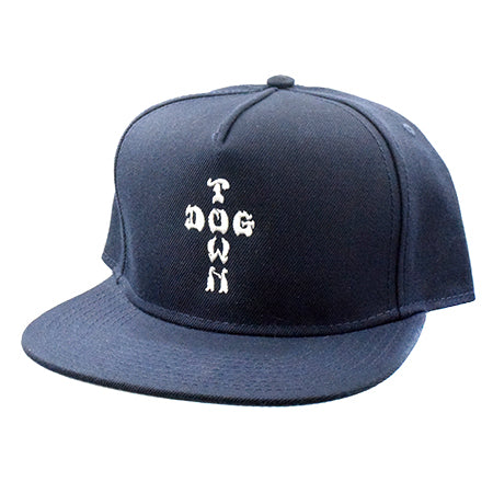 Dogtown Hat Snapback Cross Letters Embroidered