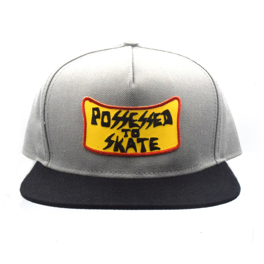 lace up in exclusive deals 100% quality Suicidal Skates Possessed to Skate Patch Snapback Hat – Dogtown X ...