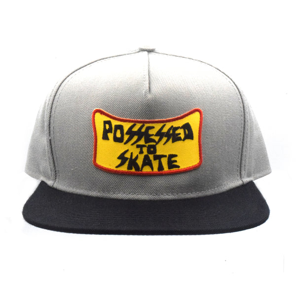 Suicidal Skates Possessed to Skate Patch Snapback Hat