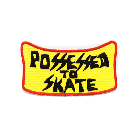"Suicidal Possessed to Skate Patch - 3.5"" x 2"""