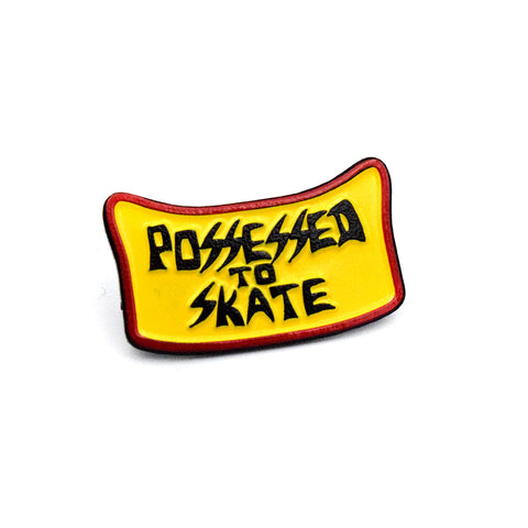 Suicidal Enamel Pin Possessed to Skate