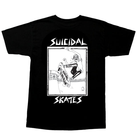 Suicidal T-Shirt Pool Skater