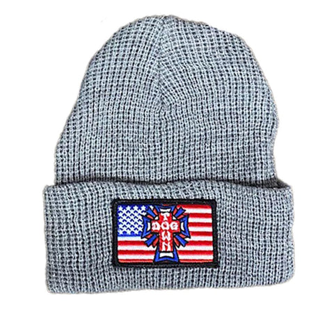 Dogtown Flag Patch Beanie