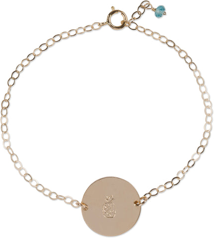 Ocean Coin Bracelet (Pineapple)