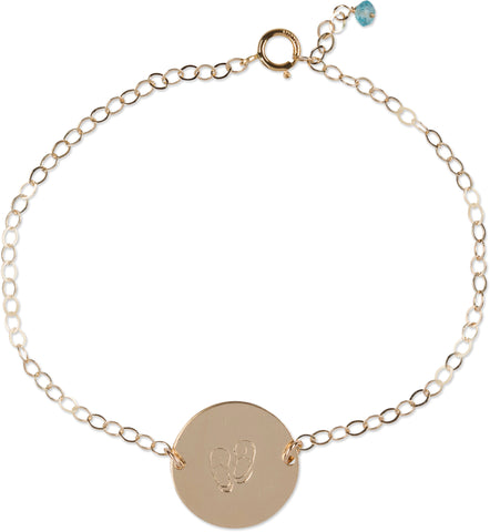 Ocean Coin Bracelet (Slipper)
