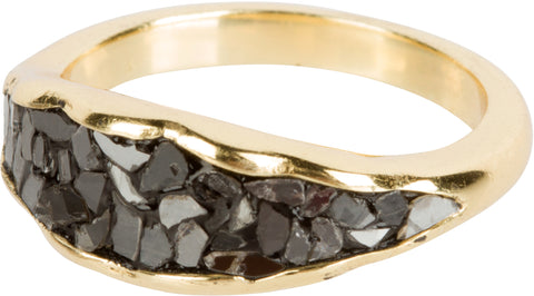 Black Diamond Ring (Lava Ring)