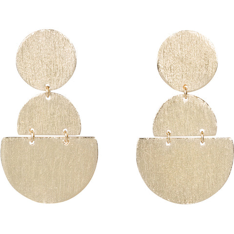 Gold Picasso Earrings