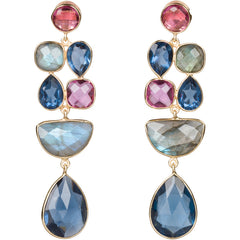 St. Tropez statement earrings