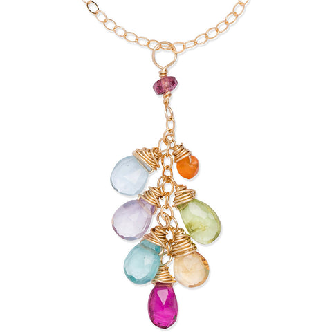 Anueunue (Rainbow) waterfall necklace