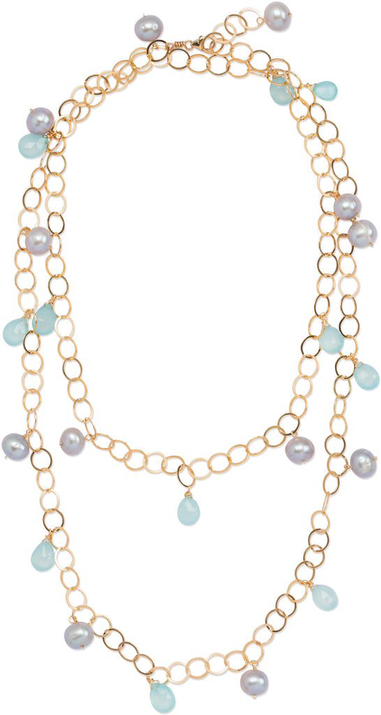 Pearl Stella Necklace