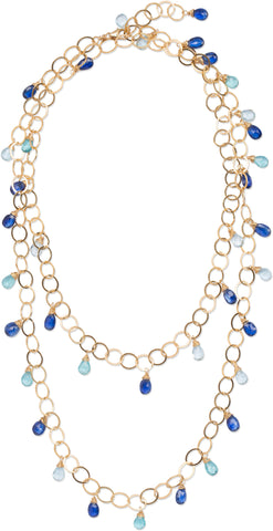 Blue Stella Necklace