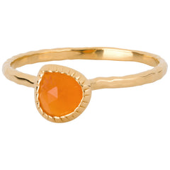 Carnelian Stacking Ring