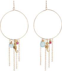 Pacifica Hoop Earrings