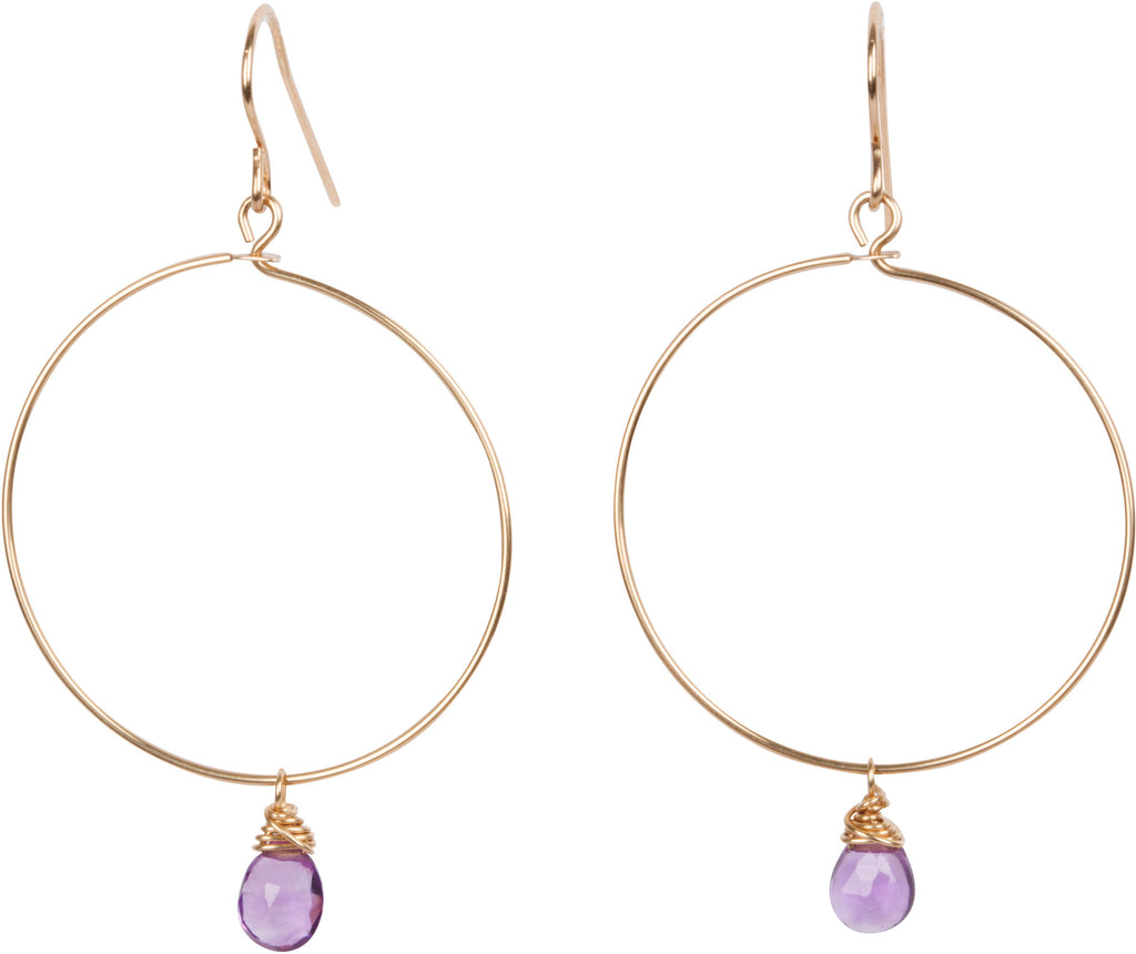 Emma Hoop Earrings