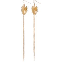Palm Tassle Earrings
