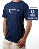 Men's Short Sleeve Logo Organic Cotton T-Shirt