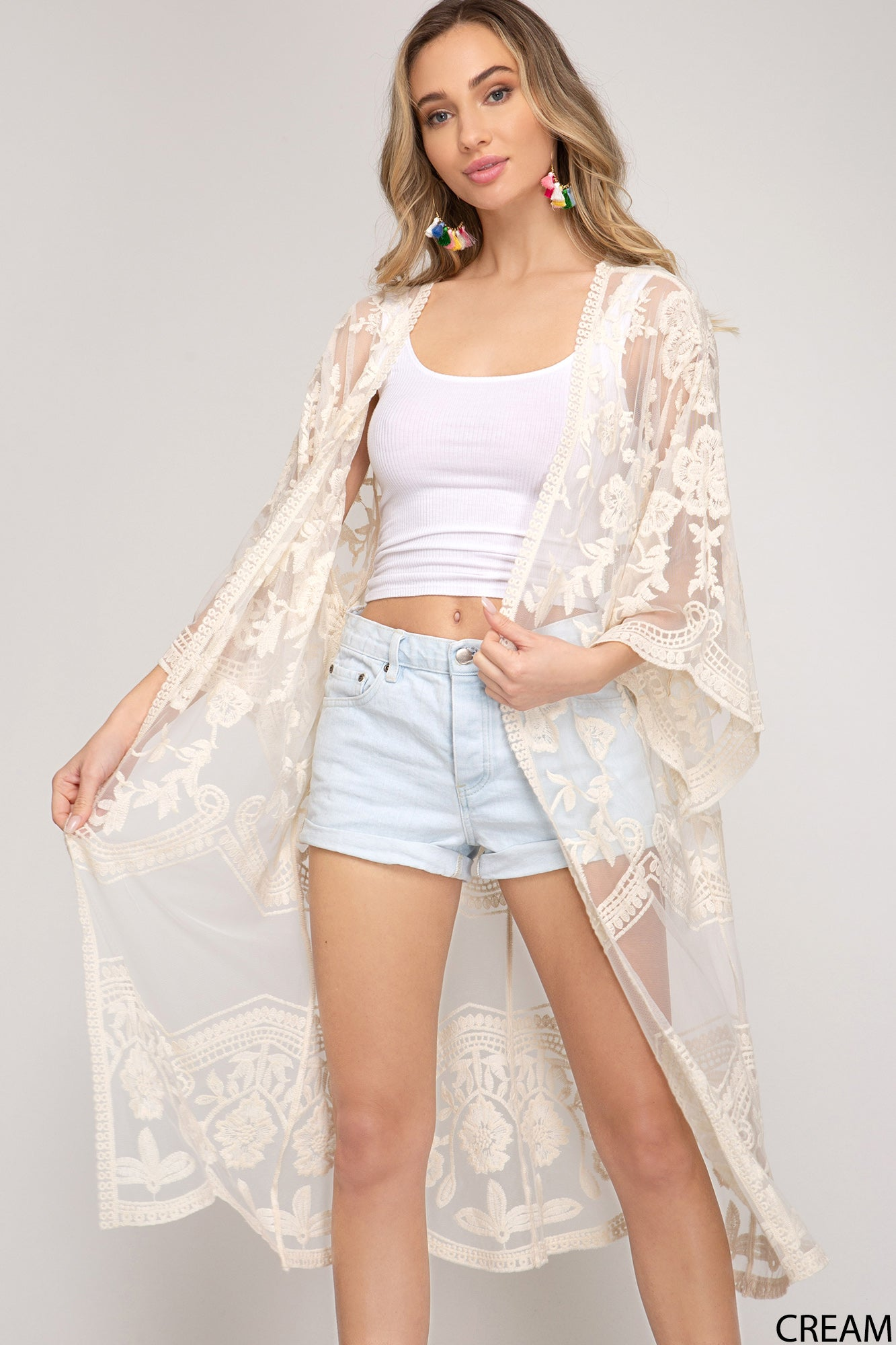 Copy of Dreamy Crochet Lace Cardigan