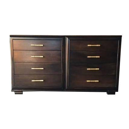 Mid-Century Dresser in Black Oak by Raymond Loewy - City of Z Design