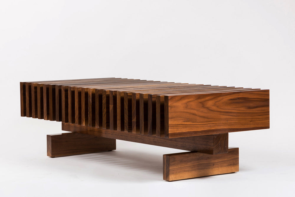 Load image into Gallery viewer, Mid Century Walnut Coffee Table - City of Z Design