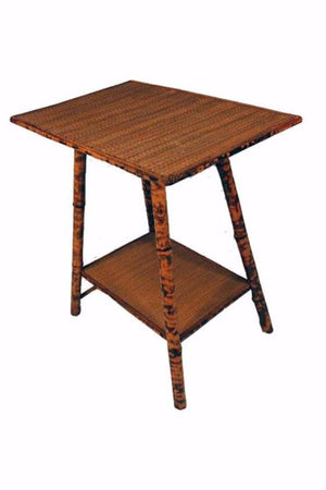 Load image into Gallery viewer, Vintage Tiger Bamboo Side Table - City of Z Design