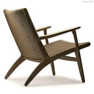 Mid Century Modern Hans Wegner Lounge Chair - City of Z Design