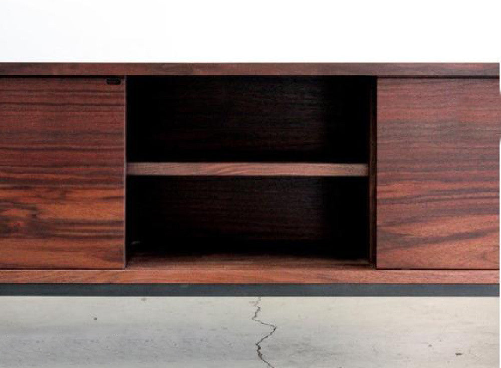 Farmhouse Modern Buffet, Hand Crafted Solid Wood with Metal Frame - City of Z Design