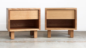 Hand Crafted Solid Wood Side Table - Hanko Series - Chadhaus - City of Z Design