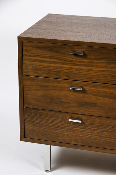 Mid-Century Credenza in Walnut by Harvey Probber - City of Z Design