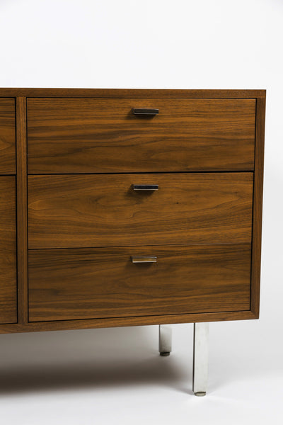 Mid-Century Credenza in Walnut by Harvey Probber
