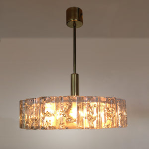 Vintage Murano Chandelier by Doria Leuchten, Germany 1960's - City of Z Design