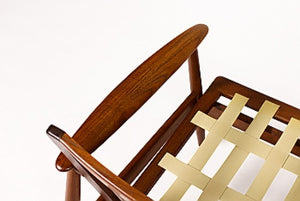 Rare, Pair of Mid-Century Lounge Chairs for Moreddi in African Teak - City of Z Design