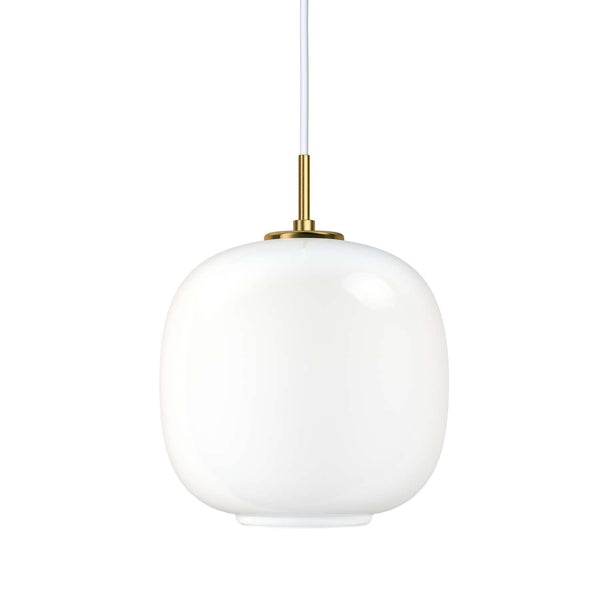 Handblown Glass Pendant by Vilhelm Lauritzen + Louis Poulsen