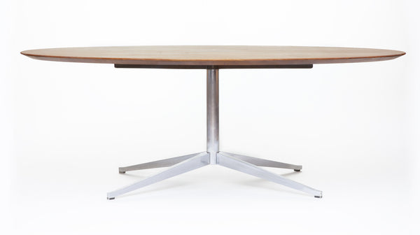 Vintage Knoll Dining or Conference Table in Rosewood - City of Z Design