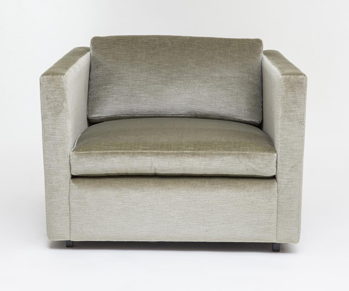 Attractive ... Pfister Lounge Chair For Knoll Upholstered In Sage Green Mohair   City  Of Z Design