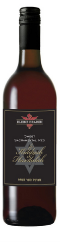 Kleine Draken Kiddush - (Case of 6 Bottles 750ml) Kosher for Passover