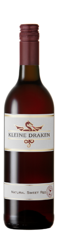 Kleine Draken Natural Sweet Red (Case of 6 Bottles 750ml ) Kosher for Passover