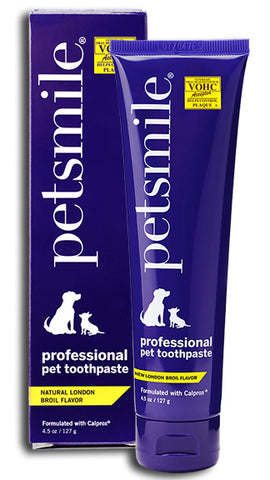 Petsmile 4.5oz Professional Toothpaste - London Broil Beef Flavour