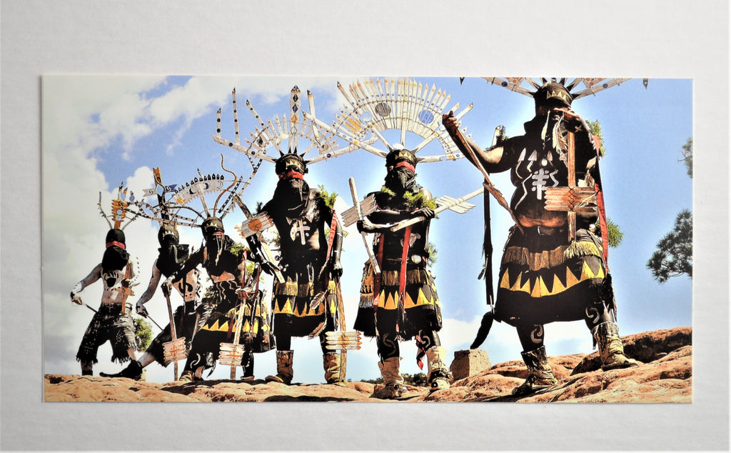 Apache Crown Dancers - STICKER