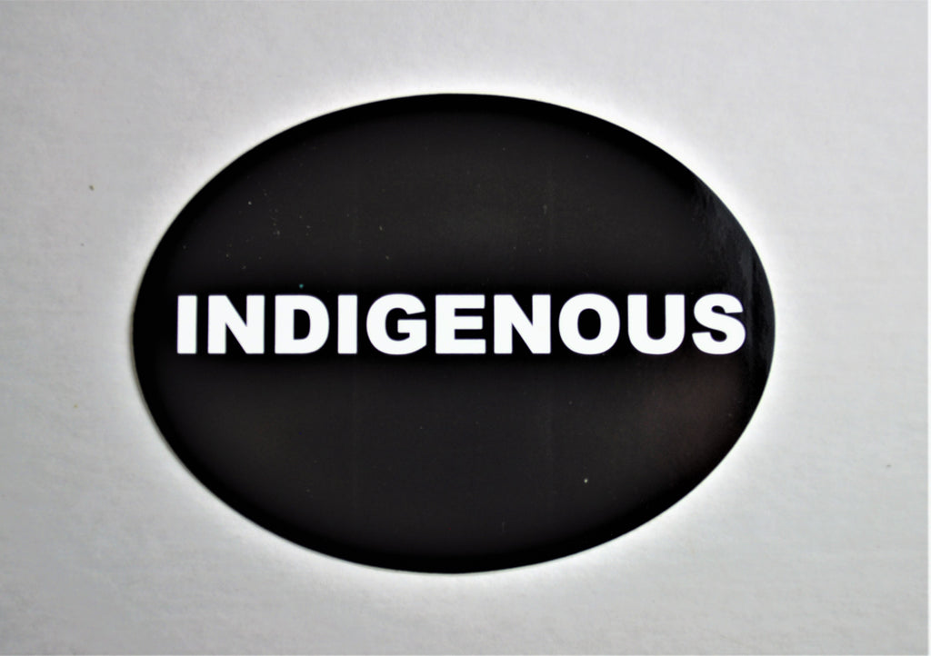 Indigenous STICKER