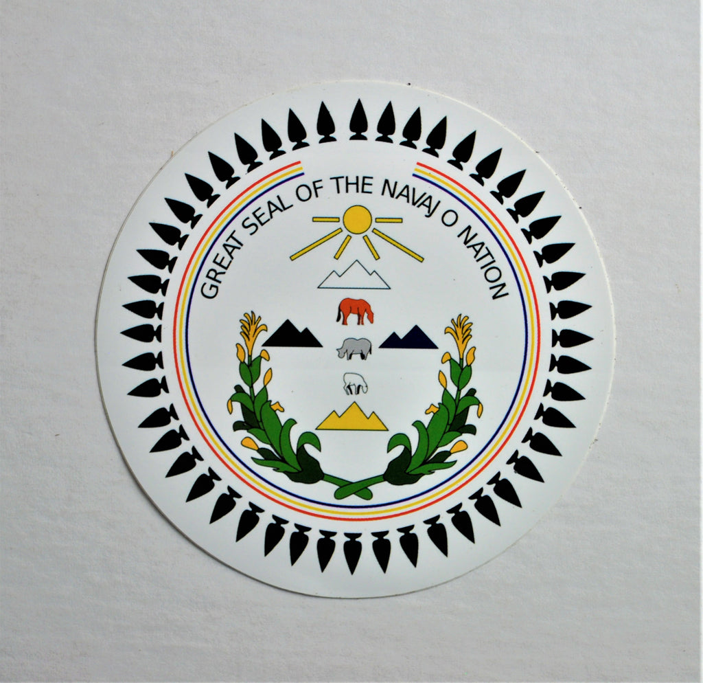 Great Seal of the Navajo Nation STICKER