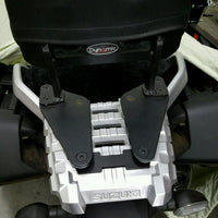 Mounting Plates to go with Passenger Backrest for the Suzuki V-Strom  DL1000 14+. V-Strom DL 1000 14+