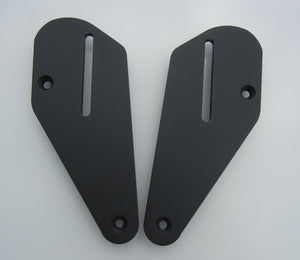 Mounting Plates to go with Passenger Backrest for BMW S1000 XR.  S1000XR