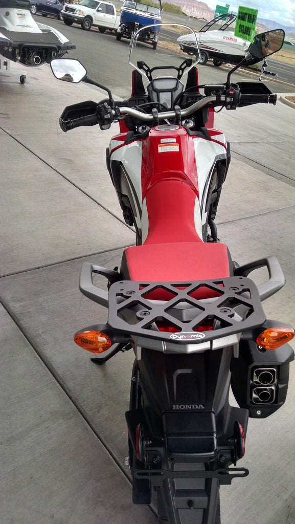 Short Luggage Rack for the Honda CRF1000L Africa Twin ...