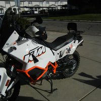 KTM 950/990 Adventure Long Luggage Rack Top Case Mount
