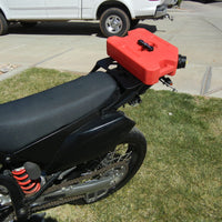 Long Luggage Rack for Kawasaki KLX250S and KLX250SF. KLX 250S and KLX 250SF.KLX250 S and SF