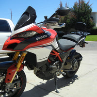 Ducati Multistrada 1200 DVT Long  Rack Top Case Mount Pikes Peak 2015+
