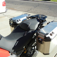 Short Luggage Rack for Ducati 950/950S Enduro, MTS1200 Enduro, and MTS1260 2018-. Ducati Enduro 950, 950 S 2019-, Multistrada 1200 Enduro , and 1260. Ducati Enduro 950 2017-, MTS 1200 Enduro 2016-MTS 1260 2018-.