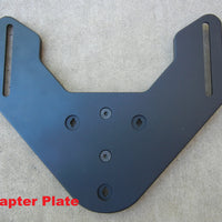 HONDA CB/CBR 650F Backrest and Adapter Plate