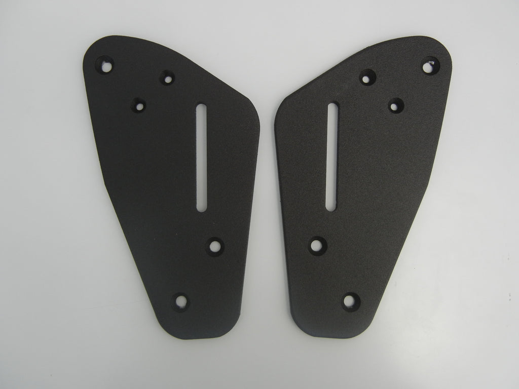 Mounting plates to go with Passenger Backrest for Ducati Multistrada 950/950S, 1260, 1200. MTS Enduro.950 2017-,950 S 2019- MTS1200 Enduro 2016- MTS 1260 2018-