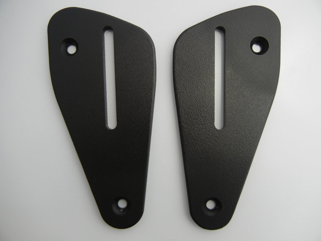 Mounting Plates to go with Passenger Backrest for Ducati Hypermotard 821 and 939 '13-'17